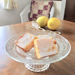 レモンスクエアケーキ